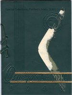 1940 Commencement booklet