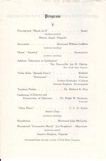 1941 Oswego Normal School Commencement program