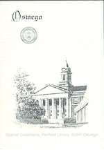 1960 SUNY College of Education Summer Commencement program + invitation
