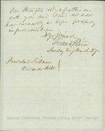 President Pierce to Millard Fillmore.  March 27, 1853