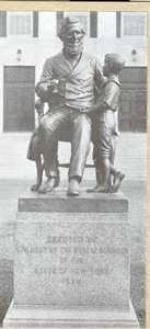 Sheldon statue