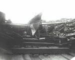 Goble Shipyard; boat in drydoc