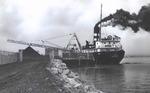 Laker 'Fontana' unloading coal