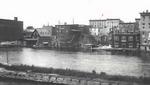 Oswego River, looking east acr