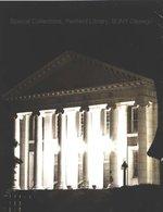 Sheldon Hall at night.