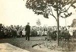 Dedication of memorial trees