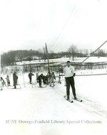 Electric ski tow at Fallbrook