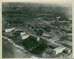 Campus aerial view, circa 1950