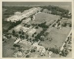 State Teachers College at Oswego aerial view, 1940s