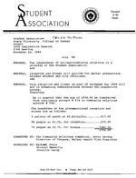 20th Session (1984-85) Legislative Documents