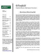 @Penfield: Penfield Library's Information Newsletter