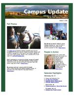 Campus Update October 14, 2009