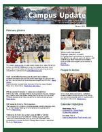 Campus Update  February 3, 2010