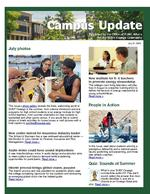Campus Update July 21, 2010