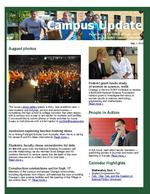 Campus Update  September 1, 2010