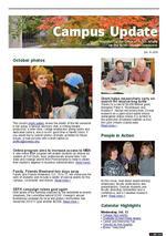 Campus Update  October 13, 2010