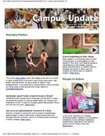Campus Update  March 2, 2011