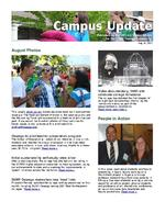Campus Update August 31, 2011