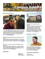 Campus Update November 23, 2011