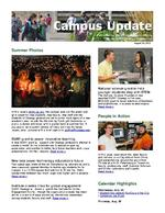 Campus Update August 29, 2012