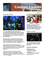 Campus Update September 26, 2012
