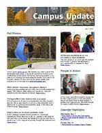 Campus Update November 7, 2012