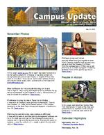 Campus Update November 21, 2012