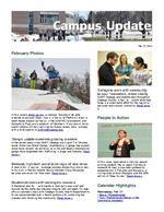 Campus Update February 27, 2013