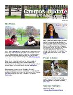 Campus Update May 8, 2013