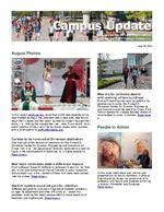 Campus Update August 28, 2013