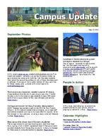 Campus Update September 25, 2013
