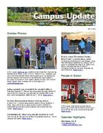 Campus Update October 9, 2013
