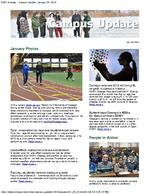 Campus Update January 29, 2014