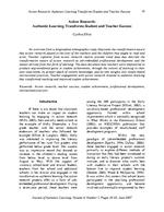 Action Research: Authentic Learning Transforms Student and Teacher Success