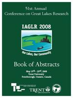 Our lakes, our community, May 19th-23rd, 2008, Trent University, Peterborough, Ontario, Canada