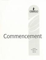 2004 - December - AM - Commencement - SUNY Oswego