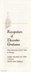 1989 - December - PM - Commencement - SUNY Oswego