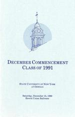 1990 - December - AM - Commencement - SUNY Oswego