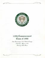 1990 - May - AM - Commencement - SUNY Oswego