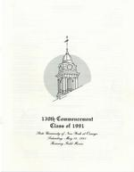 1991 - May - AM - Commencement - SUNY Oswego
