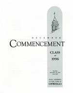1995 - December - AM - Commencement - SUNY Oswego