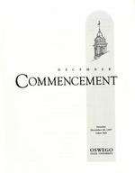 1997 - December - AM - Commencement - SUNY Oswego