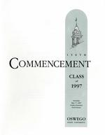 1997 - May - AM - Commencement - SUNY Oswego