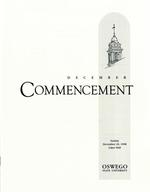 1998 - December - AM - Commencement - SUNY Oswego