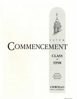 1998 - May - AM - Commencement - SUNY Oswego