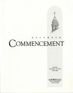1999 - December - AM - Commencement - SUNY Oswego