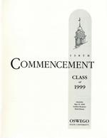 1999 - May - AM - Commencement - SUNY Oswego