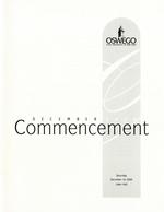 2000 - December - AM - Commencement - SUNY Oswego