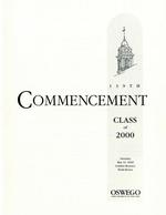 2000 - May - AM - Commencement - SUNY Oswego