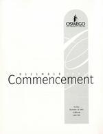 2001 - December - AM - Commencement - SUNY Oswego